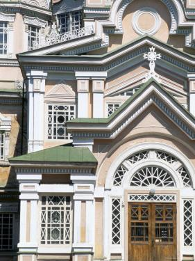 Zenkov Cathedral, Built of Wood Without Nails, Almaty (Alma Ata), Kazakhstan, Central Asia by Upperhall