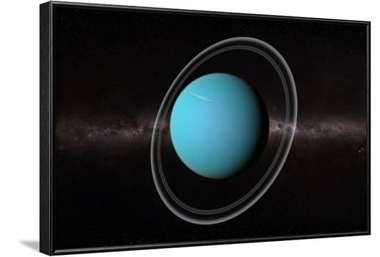 Uranus, Artwork--Framed Photographic Print