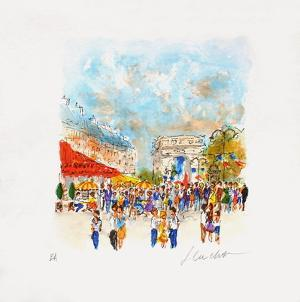 Paris, Le Fouquet'S by Urbain Huchet