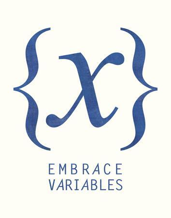 Embrace Variables