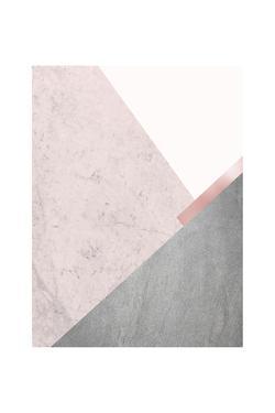 Blush Pink Mountains 1 by Urban Epiphany