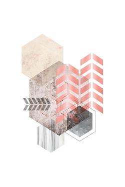 Hexagonal Geo 2 by Urban Epiphany