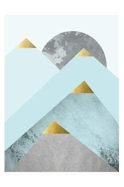 Turquoise Mountains 2 by Urban Epiphany