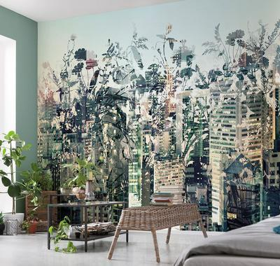 Urban Jungle Wall Mural Part 9