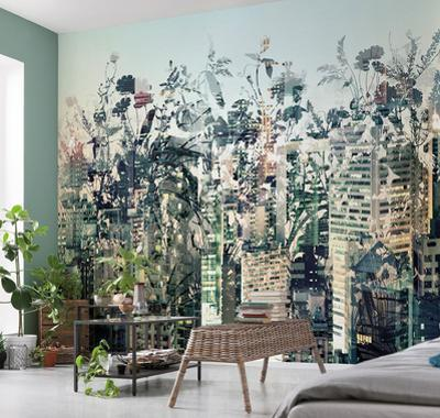 Urban Jungle Wall Mural