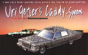 Caddy - Spoons by Uri Geller