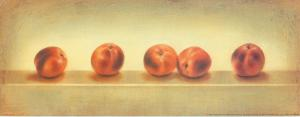 5 Red Peachs by Urpina