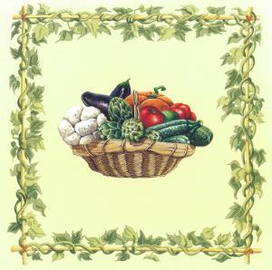 Basket Of Vegetables II by Urpina