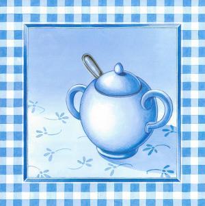 Blue Kitchen Kit III by Urpina