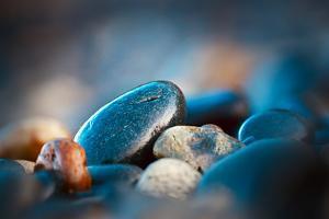 Beach Rocks by Ursula Abresch