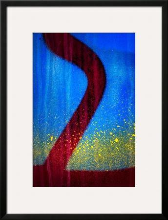 Blue Abstract 2 by Ursula Abresch