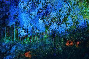 Blue Autumn by Ursula Abresch