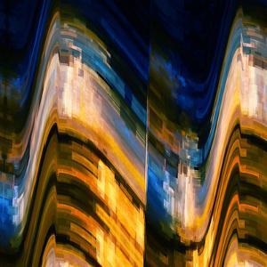 City at Night 4 by Ursula Abresch