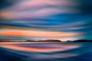 Coastlines (In Blue) by Ursula Abresch