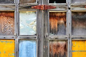 Old Garage Door by Ursula Abresch