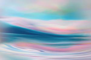 Pastel Waters by Ursula Abresch