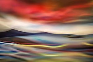 Red Dusk by Ursula Abresch