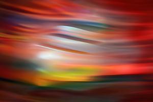 Red Sunset by Ursula Abresch