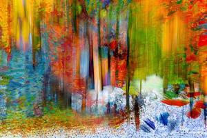 The Woods in Summer by Ursula Abresch