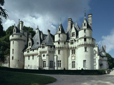Chateau d'Usse, Dating from 15th Century, Rigny Usse, Indre Et Loire, Centre, France