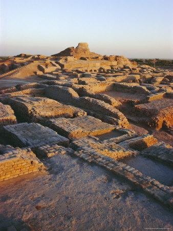 The Citadel with Buddhist Stupa 2nd Century Ad, Mohenjodaro, Pakistan