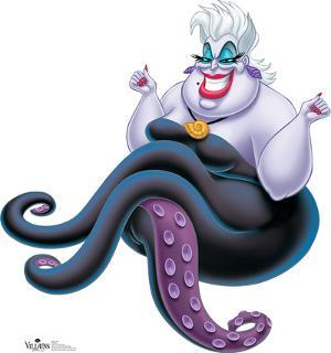 Ursula - The Little Mermaid Disney Villain Lifesize Standup