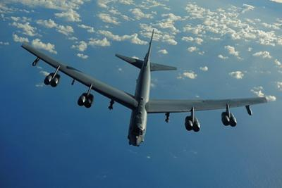 US Air Force B-52 Flies a Mission in Support of 2010 Rim of the Pacific Exercises