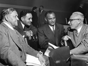 Us and Pakistan Delegates at the United Nations, Paris, 1950S