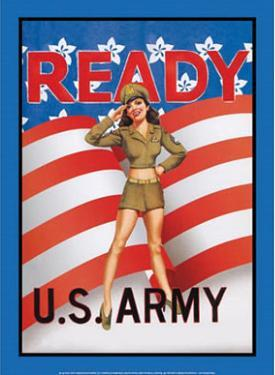 US Army Ready Soldier Sexy Girl
