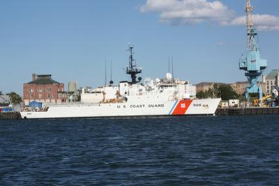 US Coast Guard Ship Plastic Sign