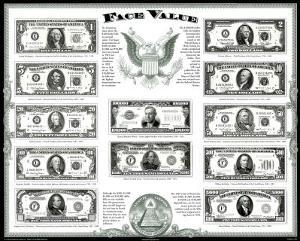 US Currency (Face Value)