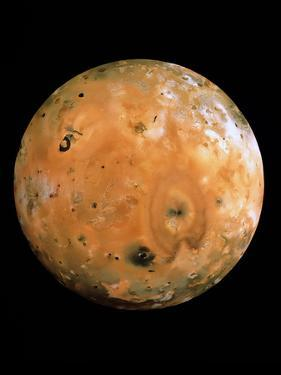 Jupiter's Moon Io by us Geological Survey
