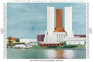 US Government Building, Chicago World Fair