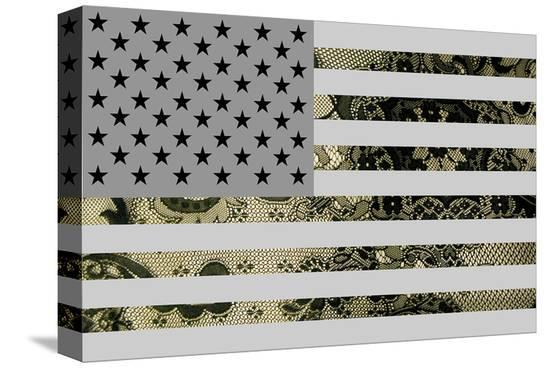 US Greatness--Stretched Canvas