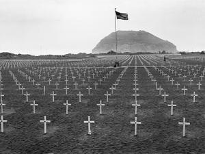 US Marine Cemetery on Iwo Jima