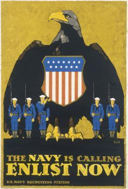 Us Navy Poster, WWI