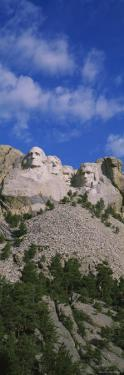 US Presidents Carved on Mt Rushmore National Monument, South Dakota, USA