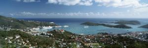 US Virgin Islands, St. Thomas, Charlotte, Amalie