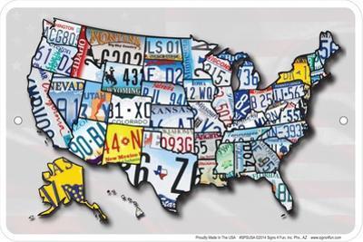 Usa Lp Map