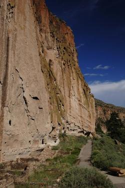 USA, Near Los Alamos, New Mexico, Bandelier National Monument
