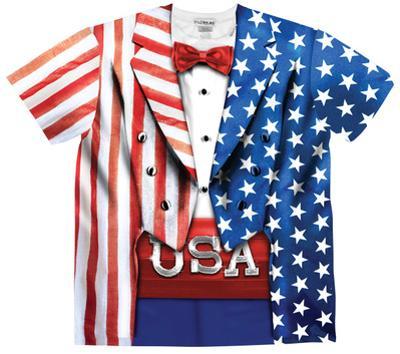 USA Tux Costume Tee
