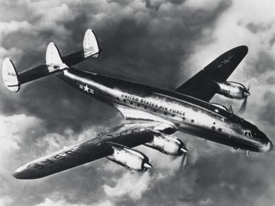 USAF Lockheed Constellation Transport Airplane