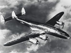 USAF Lockheed Constellation Transport Airplane