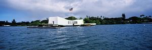 Uss Arizona Memorial, Pearl Harbor, Honolulu, Hawaii, USA