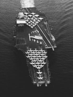 USS Enterprise in the Mediterranean Sea