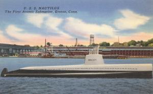 USS Nautilus, First Atomic Submarine