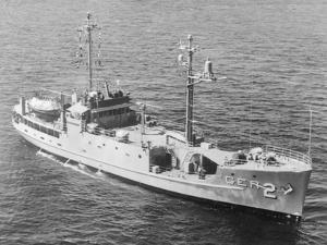 USS Pueblo Sailing