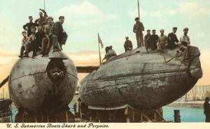 USS Submarines Shark and Porpoise
