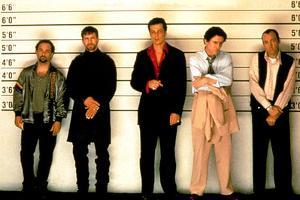 Usual Suspects, 1995, in Police Lineup Seance D'Identification