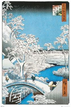 The Drum Bridge by Utagawa Hirosada